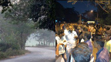 मुंबई: आरे कॉलोनी में 40 घंटों से भी कम समय में कटे 2 हजार से ज्यादा पेड़, विपक्ष ने मोदी सरकार पर लगाया आरोप