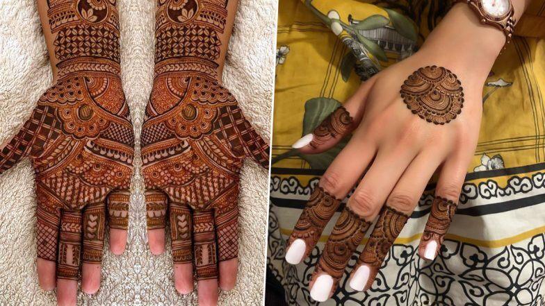 Bhai Dooj 2019 Mehndi Designs: भाई दूज के अवसर पर मेंहदी रचाकर बहनें बढ़ाएं अपने हाथों की सुंदरता, देखें अरेबिक से लेकर ट्रेडिशनल मेहंदी तक के लेटेस्ट डिजाइन