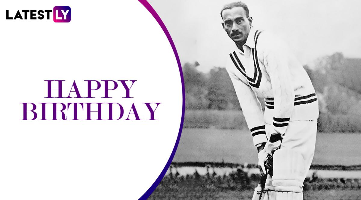 CK Nayudu 124th Birth Anniversary: क्रिकेट के 'भीष्म पितामह' सी के नायडू के जन्मदिन पर जानें उनके क्रिकेट करियर से जुड़ी रोचक बातें