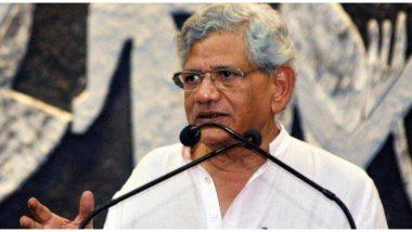 सीपीएम नेता सीताराम येचुरी बोले, सरकार का यकीन विचारकों के खिलाफ FIR दर्ज करने में