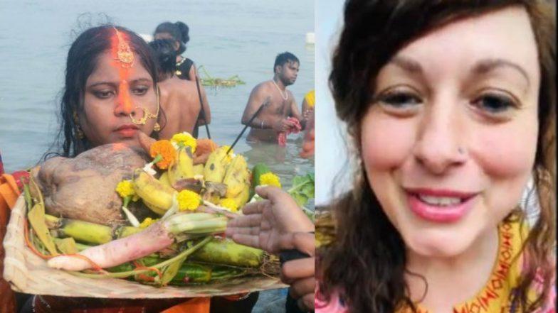 Chhath Puja 2019: देश ही नहीं विदेशों में भी मची छठ पूजा की धूम, अमेरिकी महिला क्रिस्टीन ने गाया छठी मईया का यह खूबसूरत गाना, देखें वीडियो