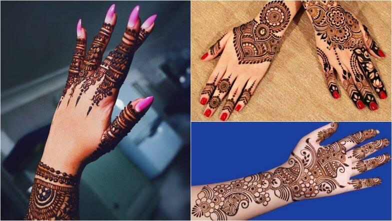 Diwali 2019 Indian Mehndi Designs: दिवाली के शुभ अवसर पर अपने हाथों में रचाएं पारंपरिक भारतीय मेहंदी, देखें खूबसूरत डिजाइन्स