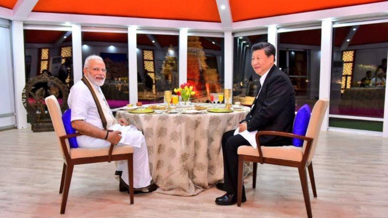 प्रधानमंत्री नरेंद्र मोदी और चीनी राष्ट्रपति शी चिनफिंग ने रात्रिभोज के दौरान ढाई घंटे तक की बातचीत, दोनों देशों के संबंधों को विस्तार देने का लिया संकल्प