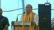 केंद्रीय रक्षा मंत्री राजनाथ सिंह की पाक को नसीहत, कहा- आतंक के खिलाफ लड़ो वरना....