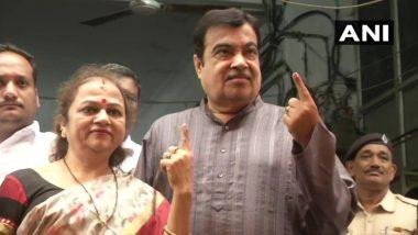 महाराष्ट्र विधानसभा चुनाव 2019: मतदान के बाद नितिन गडकरी ने कहा- बीजेपी-शिवसेना की होगी रिकॉर्डतोड़ जीत
