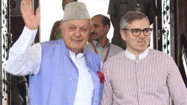 जम्मू-कश्मीरः फारूक और उमर अब्दुल्ला से आज मिलेंगे नेशनल कांफ्रेंस के नेता, गवर्नर सत्यपाल मलिक ने दी इजाजत