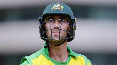 ग्लेन मैक्सवेल ने मानसिक स्वास्थ्य के लिए क्रिकेट से लिया ब्रेक, डी आर्सी शॉर्ट को मिला मौका