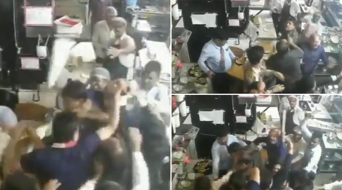 मध्यप्रदेश: खाना खाने पहुंचे ग्राहकों और रेस्टोरेंट स्टाफ के बीच मारपीट, सीसीटीवी में कैद हुई पूरी घटना