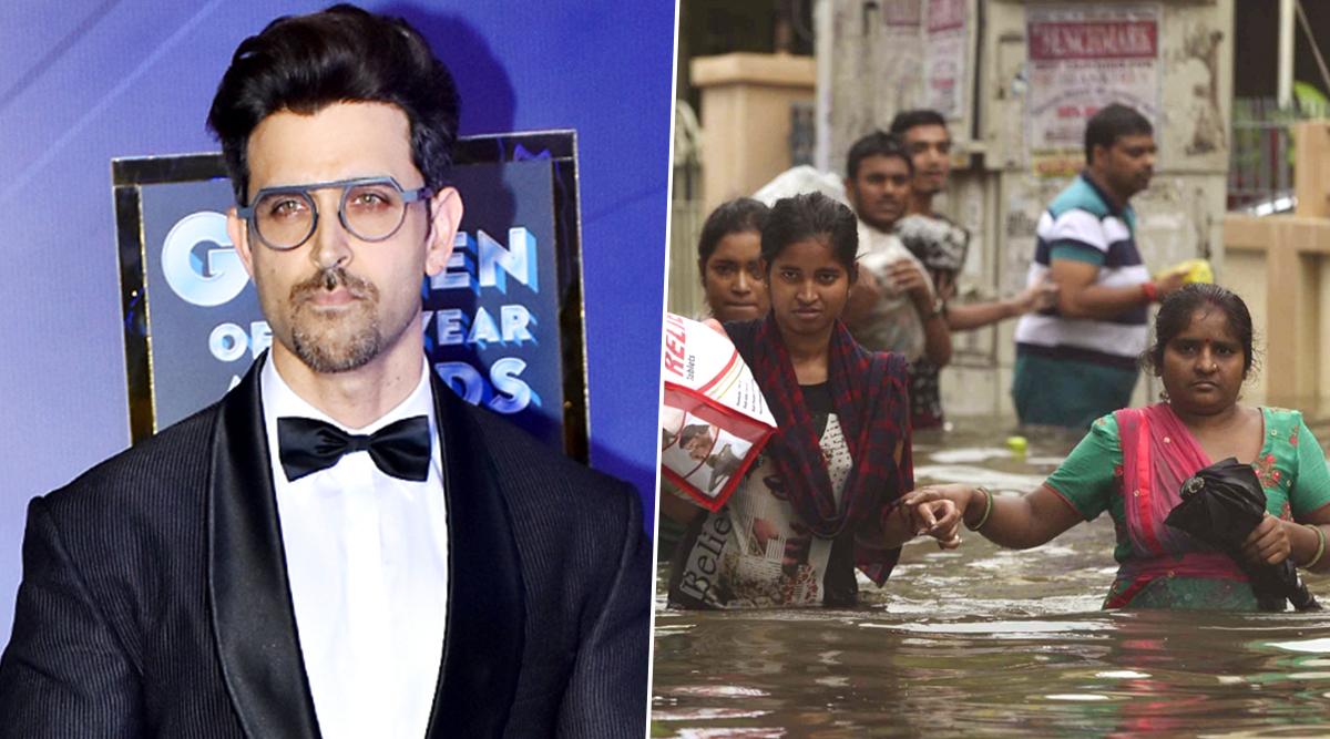 बाढ़ से बेहाल पटना का हाल देख ऋतिक रोशन का दिल हुआ दुखी, सोशल मीडिया पर लिखी ऐसी बात