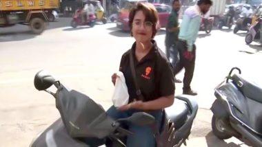 हैदराबाद: इस लड़की ने फूड डिलीवरी गर्ल के रूप में जॉब कर तोड़ी सभी सामजिक बाधाएं, कहा-'कोई काम छोटा या बड़ा नहीं होता'