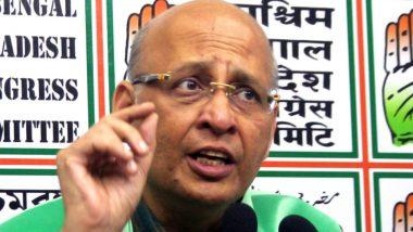 अभिषेक सिंघवी ने कहा- हिंदुओं को नागरिकता देने के खिलाफ नहीं कांग्रेस