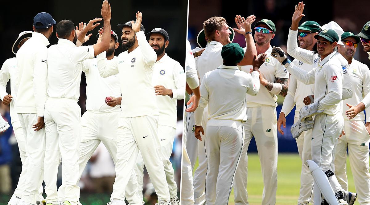 IND vs SA 2nd Test Match 2019: पुणे टेस्ट के दौरान सुरक्षा में बड़ी चूक, बीच मैदान में घुसा युवक