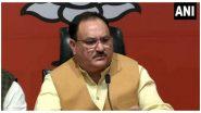 BJP Core Committee Meeting: जेपी नड्डा के घर पर बीजेपी की  कोर कमेटी की मीटिंग, पश्चिम बंगाल में बदहाल कानून व्यवस्था को लेकर हुई चर्चा