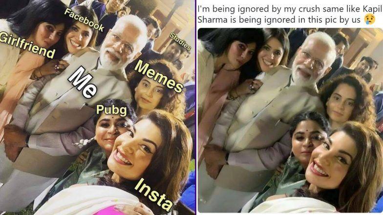 पीएम मोदी और बॉलीवुड सेलेब्स की सेल्फी फोटोज पर बने ये मजेदार मीम्स, कपिल शर्मा का जमकर उड़ रहा है मजाक