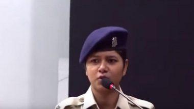 महिला जवान खुशबू चौहान का जोशीला भाषण वायरल होने पर CRPF ने सराहा, साथ ही दी ये सलाह