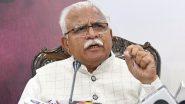 Haryana: सीएम मनोहर लाल बोले- नहीं लगता कि कोरोना की तीसरी लहर आएगी लेकिन सावधानी जरूरी