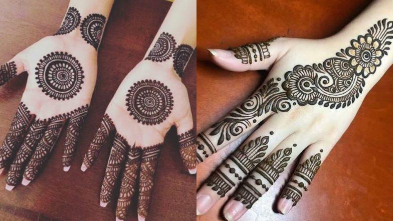 Diwali 2019 Mehndi Designs: दीपावली पर रचाएं मेहंदी और बढ़ाएं अपने हाथों की सुंदरता, देखें लेटेस्ट और आकर्षक मेहंदी डिजाइन्स