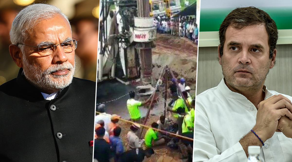 तमिलनाडु के सुजीत विल्सन को बोरवेल से निकालने की जद्दोजहद चौथे दिन भी जारी, पीएम मोदी और राहुल गांधी ने की सलामती की दुआ