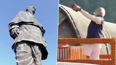 गुजरात: PM Modi ने लौहपुरुष सरदार पटेल को दी 144वीं जयंती पर श्रद्धांजलि, देशवासियों को दिलाई राष्ट्रीय एकता की शपथ