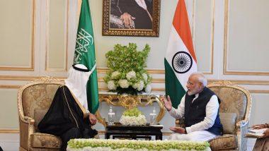 पीएम मोदी का सऊदी अरब दौरा, ऊर्जा क्षेत्र में सहयोग के लिए  मंत्री अब्दुल अजीज से की मुलाकात