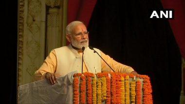 Dussehra 2019: पीएम मोदी ने दिल्ली के द्वारका में किया रावण का दहन, लोगों ने लगाए 'जय श्री राम' के नारे, देखें वीडियो
