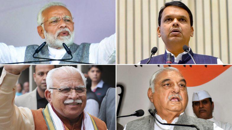 रिपब्लिक-जन की बातविधानसभा 2019 एग्जिट पोल: महाराष्ट्र और हरियाणा में फिर एक बार खिल रहा है कमल, कांग्रेस का सूपड़ा साफ होने का अनुमान