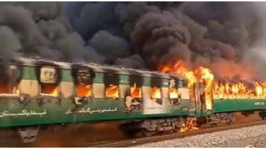 पाकिस्तान रेल हादसा: मृतकों की संख्या बढ़कर 73 हुई, कई अभी भी अस्पताल में