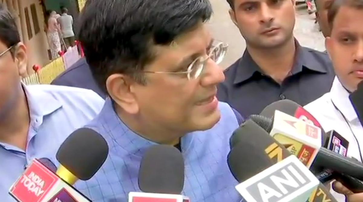 महाराष्ट्र विधानसभा चुनाव 2019: केंद्रीय मंत्री पीयूष गोयल का दावा- बीजेपी-शिवसेना गठबंधन की होगी जीत, मिलेंगी 225 सीटें