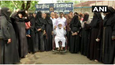 महाराष्ट्र विधानसभा चुनाव 2019: 102 साल के बुजुर्ग ने पोलिंग बूथ पहुंच कर किया मतदान, अस्पताल में था भर्ती