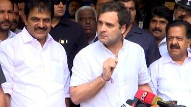 राहुल गांधी का वायनाड से हमला, कहा- पीएम मोदी और बीजेपी ने बर्बाद की देश की अर्थव्यवस्था, जवाब दें