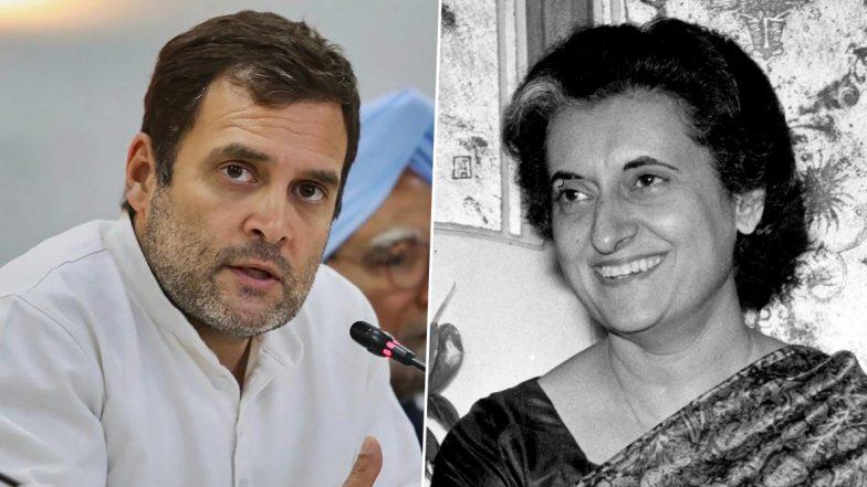 Indira Gandhi 35th Death Anniversary: राहुल गांधी बोले-इंदिरा गांधी के फौलादी इरादे, निडर फैसलों की सीख मेरा मार्गदर्शन करती रहेगी