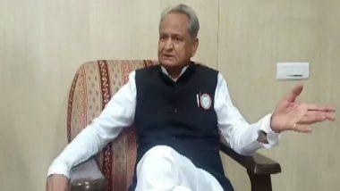 राजस्थान के मुख्यमंत्री अशोक गहलोत ने बीजेपी के खिलाफ खोला मोर्चा, कहा- जनता उनके नेताओं की कथनी और करनी में फर्क देख रही है