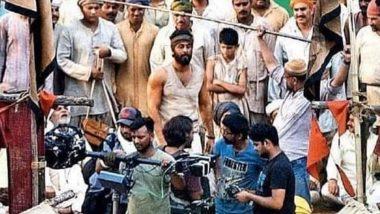 फिल्म शमशेरा के सेट से रणबीर कपूर का लुक आया सामने, पहली नजर में पहचान पाना मुश्किल