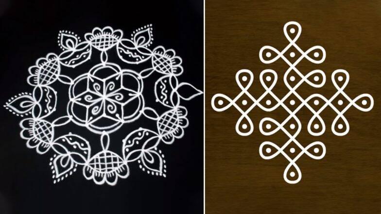 Diwali 2019 Dot Rangoli Designs: रंगोली के बिना अधूरा है दिवाली का त्योहार, डॉट और रंगों से बनाएं मनमोहक रंगोली डिजाइन्स (Watch Videos)