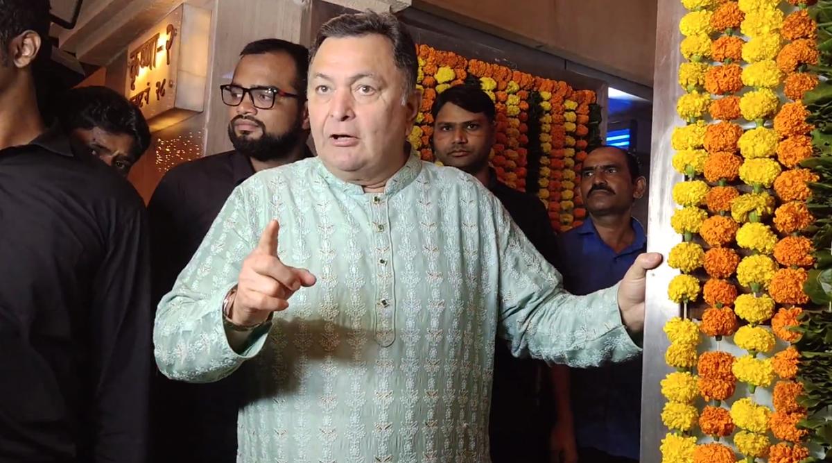 हैदराबाद गैंगरेप केस पर भड़के ऋषि कपूर ने आरोपियों को फांसी देने की मांग की