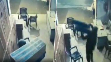 बिहार में धनतेरस से पहले चोरों ने मचाया आतंक, 50 लाख की LED TV फुर्रर- देखें VIDEO