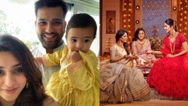 Diwali 2019: क्रिकेटर और बॉलीवुड सेलिब्रिटिज ने इस तरह मनाई दिवाली, देखें तस्वीरें