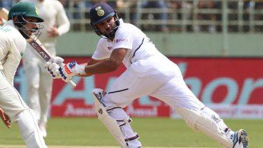 IND vs SA 1st Test Match 2019: रोहित शर्मा ने जड़ा अपने टेस्ट क्रिकेट करियर का चौथा शतक, देखें स्कोर
