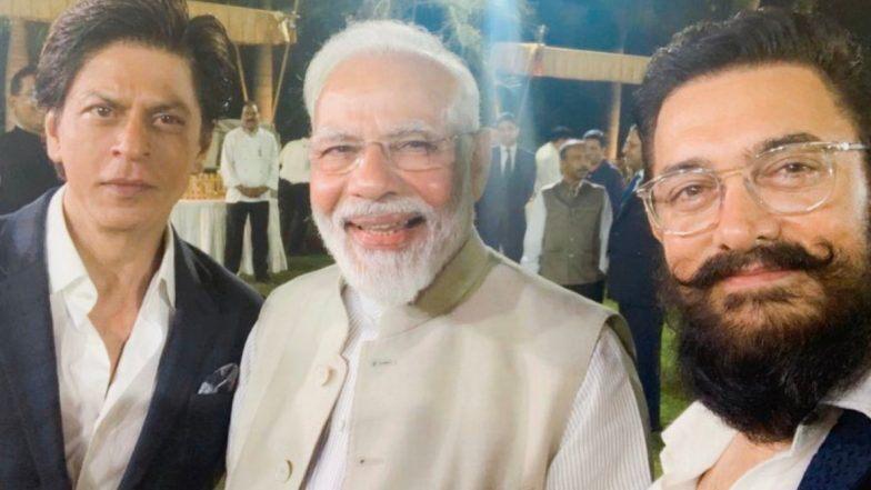 शाहरुख, आमिर संग कई बॉलीवुड सितारों से मिले पीएम मोदी, गांधी और गांधीवाद पर फिल्म बनाने की अपील की