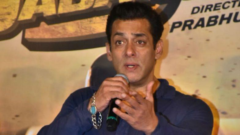 सलमान खान ने अपनी अपकमिंग फिल्म 'राधे' को लेकर किया खुलासा, कहा- यह फिल्म पुलिस एक्शन शैली का बाप होगा