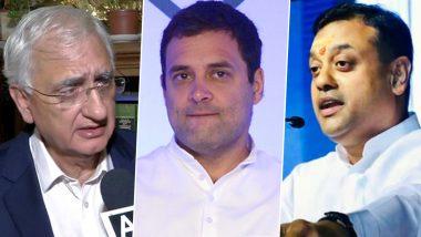 सलमान खुर्शीद के राहुल गांधी वाले बयान पर बीजेपी प्रवक्ता संबित पात्रा ने कसा तंज, कहा- कांग्रेस ने माना, उसके पास न नेता, न नीति, न नीयत