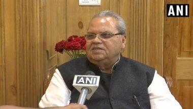 गोवा के राज्यपाल सत्यपाल मलिक ने दिया बयान, कहा- ऊंची जाति के किसी व्यक्ति ने नहीं की थी भगवान राम की मदद