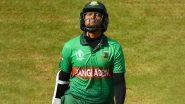 Shakib Al Hasan पर ढाका प्रीमियर लीग में 3 मैचों का लगा प्रतिबंध, 5800 डॉलर देना होगा जुर्माना