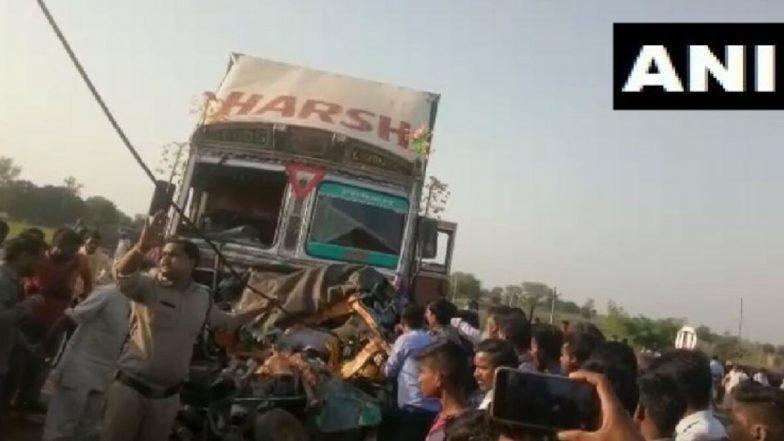 मध्य प्रदेश में भीषण सड़क हादसा, आगरा-मुंबई राजमार्ग पर ट्रक और ऑटो में हुई टक्कर, 6 लोगों की मौत