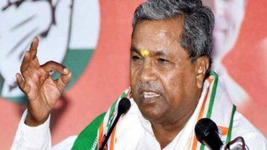 कांग्रेस नेता सिद्धारमैया ने पीएम नरेंद्र मोदी पर लगाया आरोप, कहा- प्रधानमंत्री चला रहे हैं फासीवादी सरकार