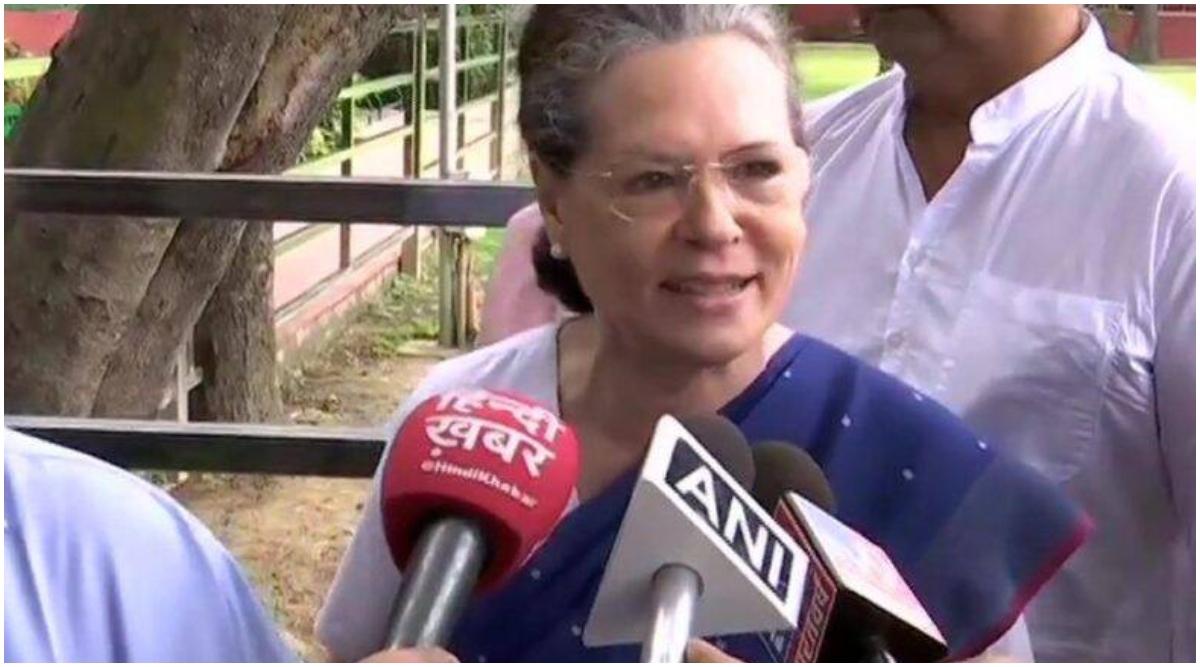 मनी लॉन्ड्रिंग केस: सोनिया गांधी ने तिहाड़ जेल में बंद कांग्रेस नेता डी के शिवकुमार से की मुलाकात