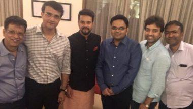 सौरव गांगुली ने शेयर की अपनी BCCI की नई टीम की तस्वीर, लिखा- साथ मिलकर अच्छा काम करेंगे