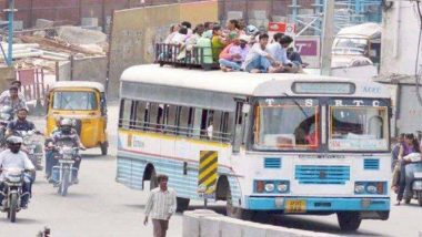 तेलंगाना में TSRTC बस कर्मचारियों की कल से अनिश्चितकालीन, यात्रियों की बढ़ सकती है मुश्किलें