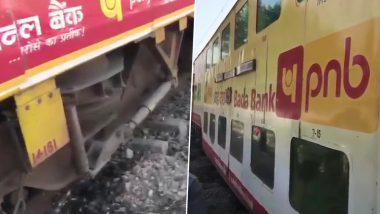 उत्तर प्रदेश: मुरादाबाद में लखनऊ-आनंद विहार डबल डेकर ट्रेन के दो डिब्बे पटरी से उतरे, टला बड़ा हादसा