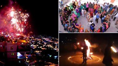 दिवाली 2019: देवभूमि उत्तराखंड में बेहद खास अंदाज में मनाया जाता है दीपों का त्योहार, पटाखों से नहीं बल्कि भैलो से मनाते हैं पहाड़ों में बग्वाल